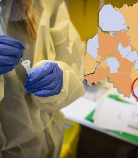 KAART | Aftocht corona wil ook in Oost-Nederland maar niet doorzetten; weer een gemeente in de landelijke topdrie
