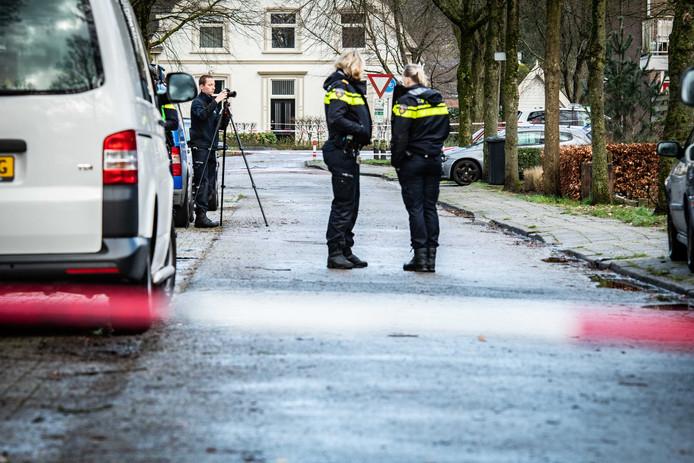 De politie kon een verdachte aanhouden