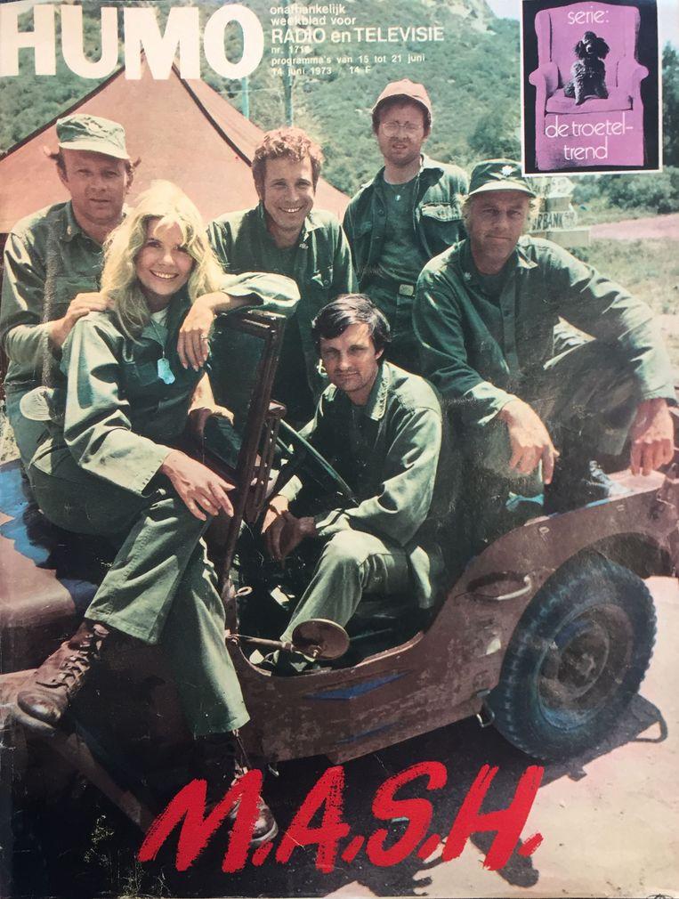 Humo cover juni 1973. Beeld Humo