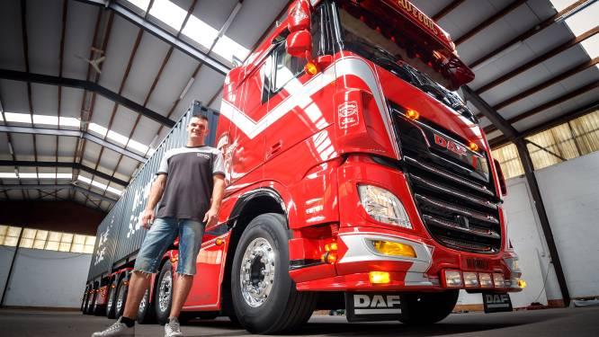 Vincent en Remco hebben nét niet de mooiste truck van Nederland: 'Heb twee weken gepoetst'