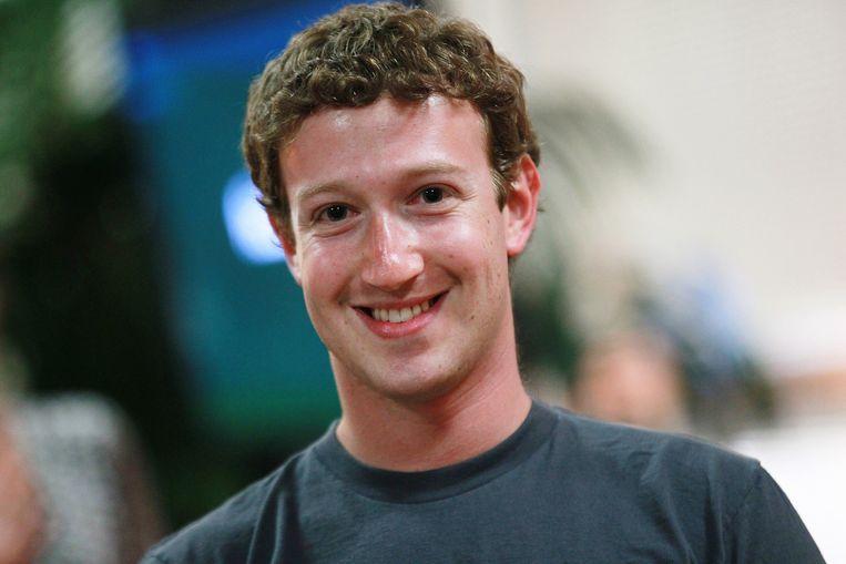 Mark Zuckerberg. Beeld getty