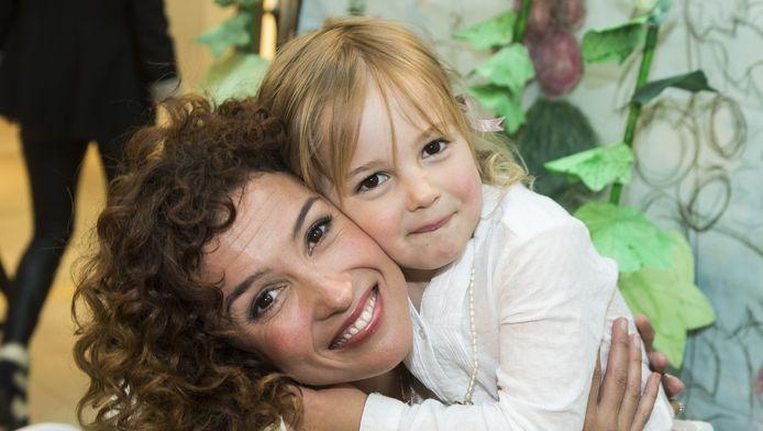 Katja Schuurman en de vierjarige Sammie