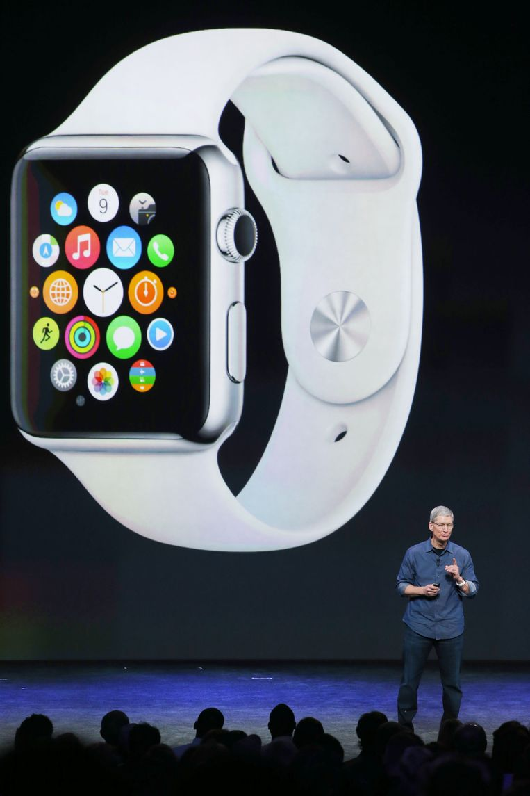 Apple Watch Beeld Getty Images