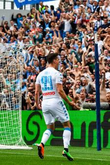 Milik redt punt voor Napoli tegen Sassuolo