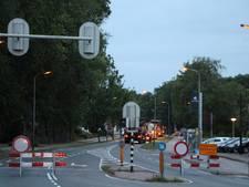 Verkeershinder door werk aan de Twenteroute in Eibergen