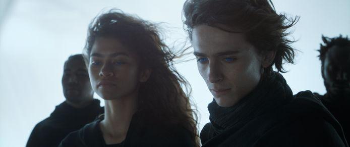 Zendaya et Timothée Chalamet