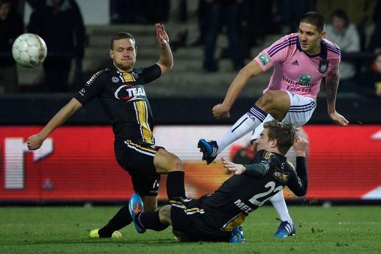 Lokeren-Anderlecht in maart van dit jaar. Beeld PHOTO_NEWS