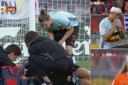 Gehecht of niet: deze speelsters in derby der Lage Landen spelen onverzettelijk verder