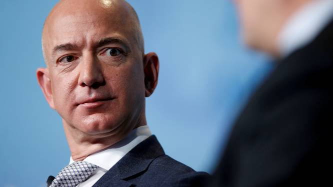 Bezos verkocht al voor 5,5 miljard euro aan aandelen van Amazon