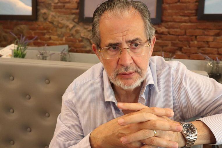 Miguel Henrique Otero, eigenaar en hoofdredacteur van El National, bestiert zijn bedrijf nu vanuit Madrid  Beeld *