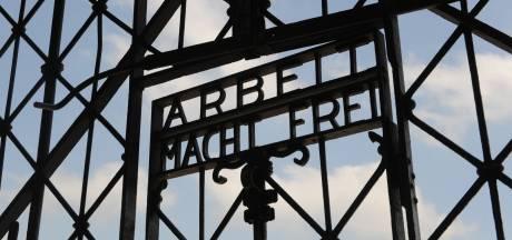 'Arbeit macht frei'-poort gestolen uit voormalig concentratiekamp Dachau