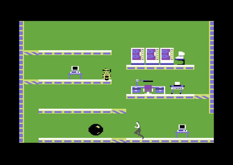 De beste game op het toestel is de onsterfelijke platformer 'Impossible Mission'. Beeld Koch Media