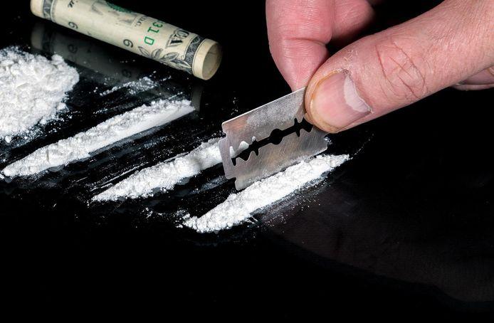 'Pink' kan gesnoven worden zoals cocaïne (foto), maar wordt ook oraal of rectaal genomen.