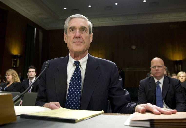 Het onderzoek van speciaal aanklager Robert Mueller (foto) is een veelkoppig monster voor president Donald Trump. Beeld AFP