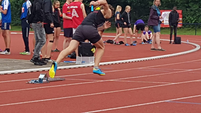 Het jongens atletiekteam van het Maurick College in Vught behaalde goud tijdens de schoolsportcompetitie Olympic Moves in Papendal.