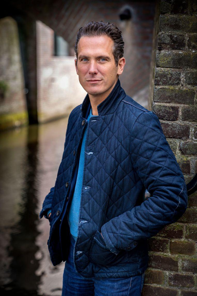 Pieter Paul Slikker, fractievoorzitter van de PvdA in de gemeenteraad van Den Bosch. Beeld Marc Bolsius