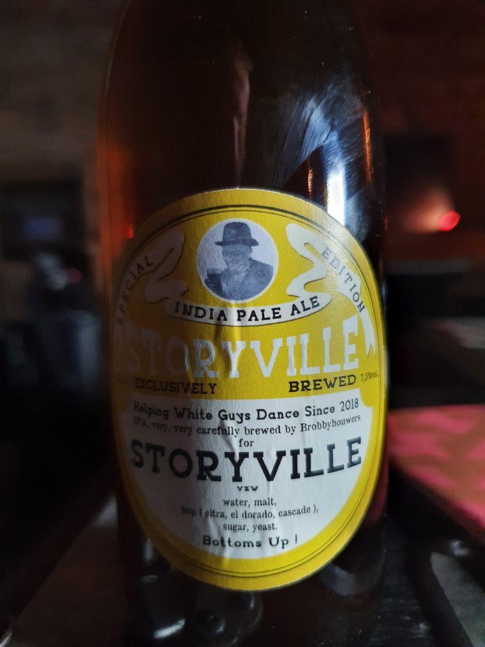 Een flesje Storyville.