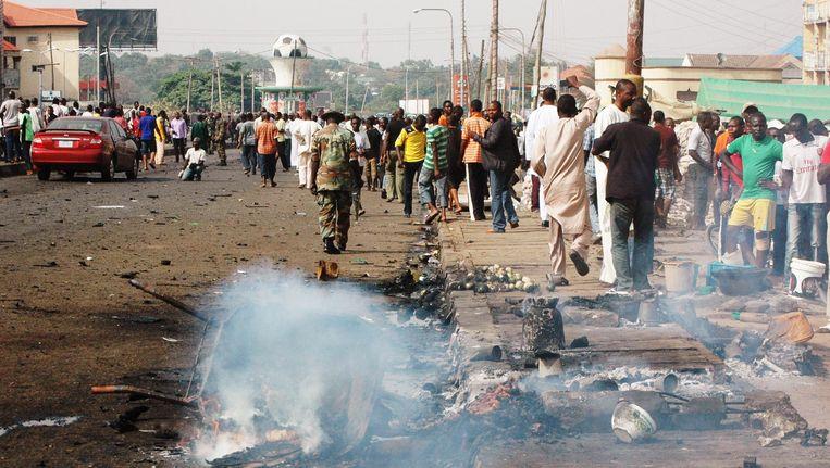 Op 8 april vond al eens een gelijkaardige aanslag plaats in Kaduna. Beeld AFP