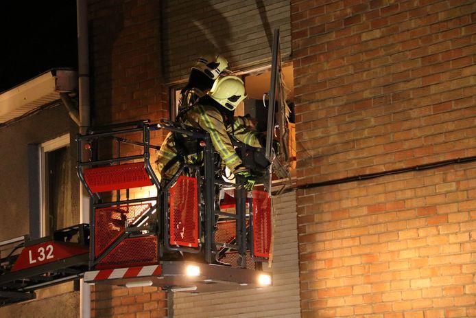 Explosie Denderleeuw - Landuitstraat - Brandweer- Spuitbus