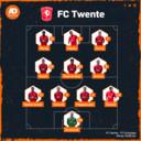 De vermoedelijke opstelling van FC Twente.