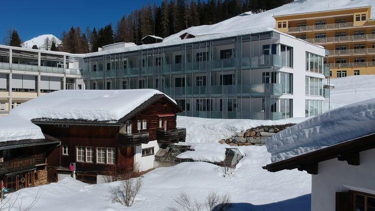 Het Nederlands Astmacentrum in Davos () Beeld Still Youtube NAD