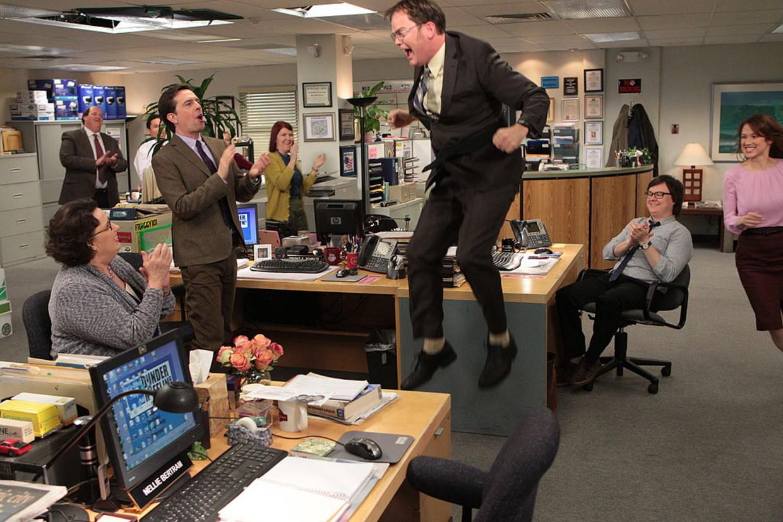 Een beeld uit de serie 'The Office'. Beeld NBCU Photo Bank/NBCUniversal via