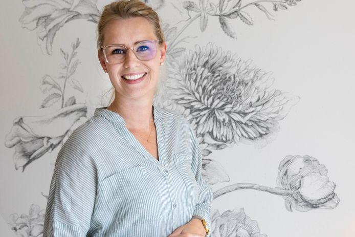 Marilijn van Hees-van Bergen kreeg een allergische reactie na haar coronaprik: ,,Rond 20 minuten na de vaccinatie zwol mijn tong op en trok mijn keel dicht.''