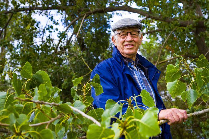Johan Koekkoek, vorig jaar bij zijn afscheid als bestuurslid van Altenatuur, waarvan hij jarenlang het gezicht was.