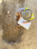 Op St. Eustatius hebben archeologen een slavenbegraafplaats uit de achttiende eeuw blootgelegd.