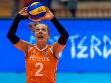 Achterhoekse volleybalster stopt na 10 jaar bij Oranje: 'Samen gelachen en gehuild'