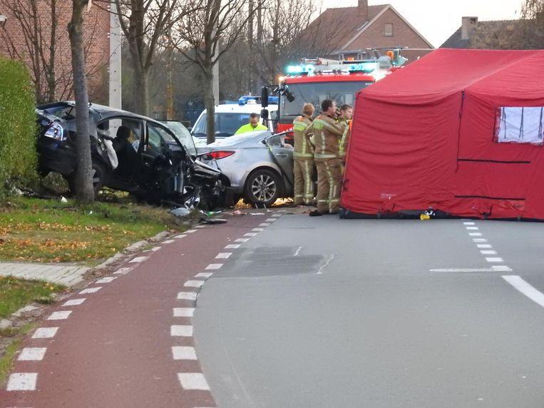 De bestuurder verloor de controle over zijn stuur.