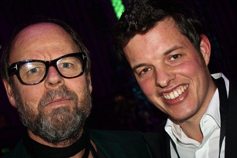 Willem Baars (JFK) en Filemon Wesselink: 'Het is een walhalla voor vrijgezellen hier!' <br /><br /> Beeld