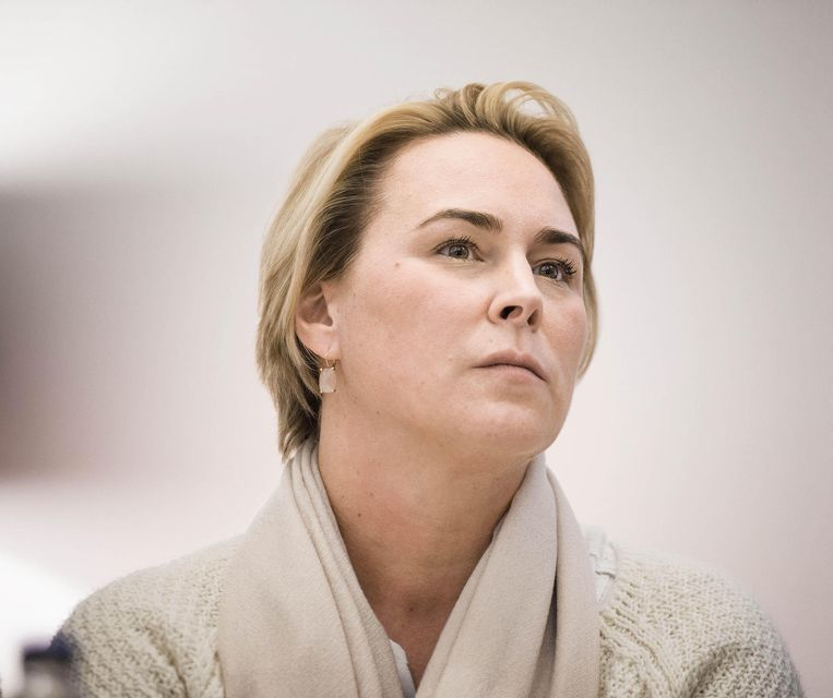 Brussels minister van Leefmilieu Céline Fremault (cdH) Beeld Eric De Mildt/Belga