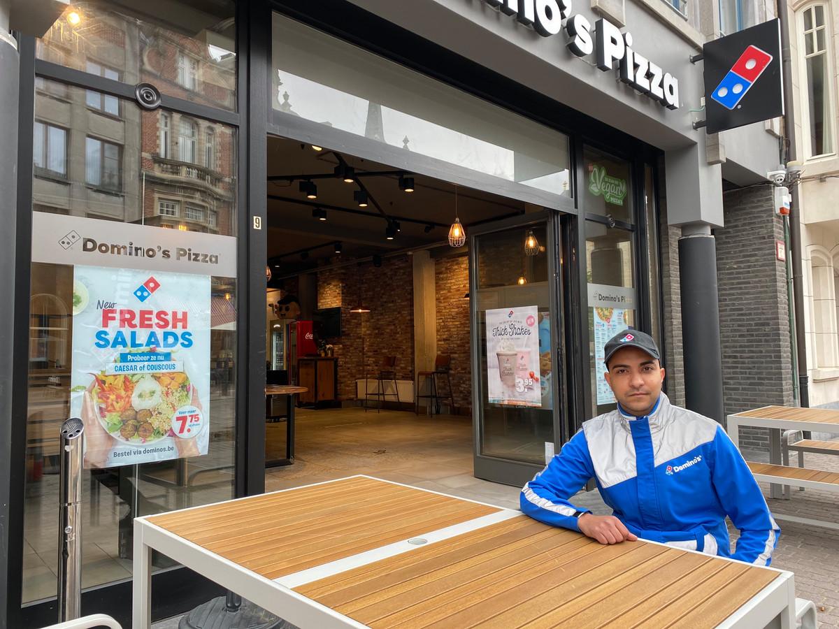 LIER - Zaakvoerder van Domino's Pizza, Yahia Shihab