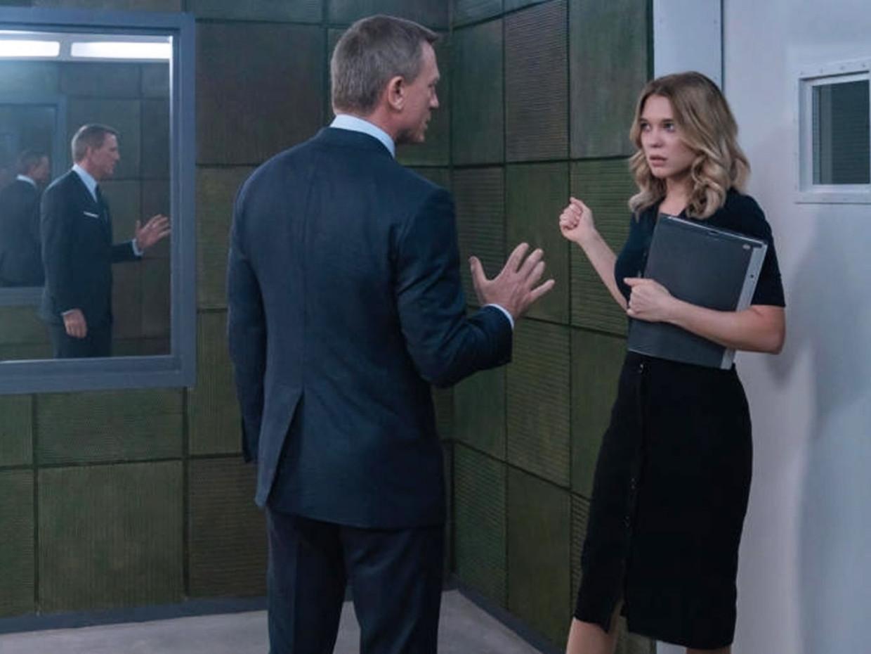Daniel Craig en Lea Seydoux in 'James Bond: No Time to Die' Beeld Universal