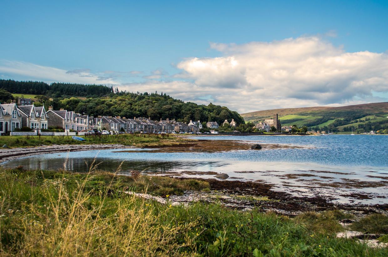 Rothesay, de hoofdstad van het Schotse eiland Bute. Beeld Getty images