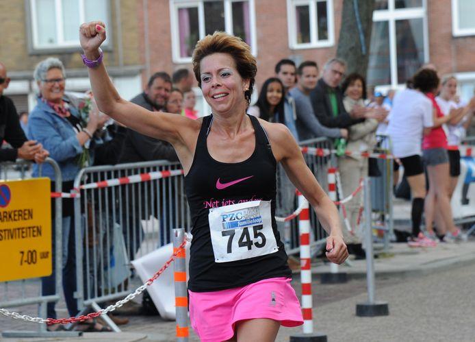Archief. In Roosendaal was Yvonne Moerland de snelste vrouw over tien kilometer.
