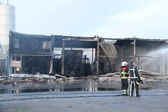 De schade in Boxmeer is groot.