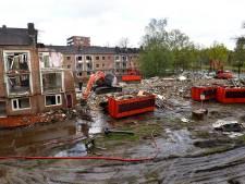 Verouderde buurt in Amersfoortse Kruiskamp tegen de vlakte, sloop in volle gang