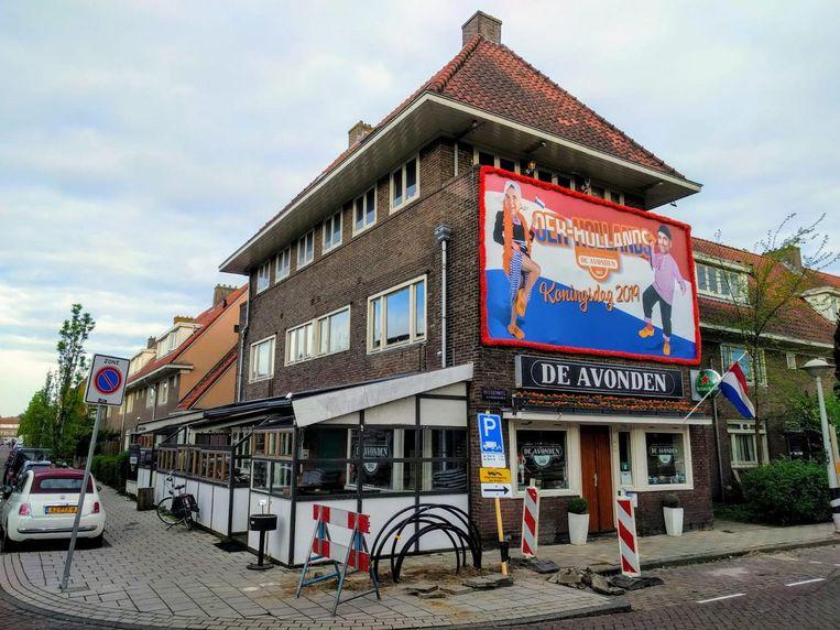 Eetcafe De Avonden in Betondorp is er klaar voor Beeld Het Parool