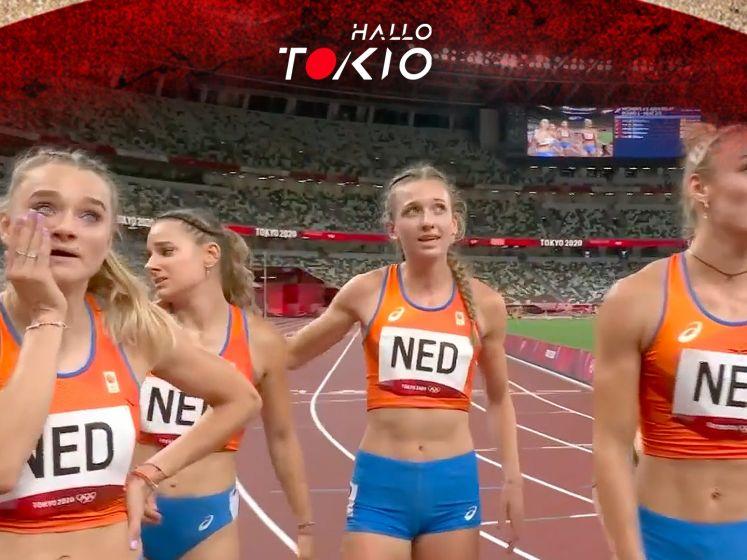 Wat een klasse! Bekijk hoe Femke Bol estafettedames met indrukwekkende sprint naar finale loodst