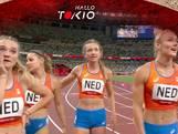 Wat een inhaalrace! Bekijk hoe Femke Bol de estafettedames met machtige sprint naar finale loodst