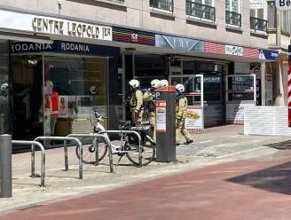 Brand in horlogewinkel blijkt mistgordijn tegen inbraak
