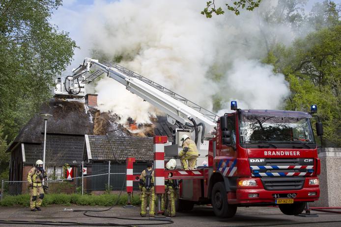 In mei 2017 richtte een uitslaande brand grote schade aan in de hobbyboerderieje. Het vuur ontstond vermoedelijk door vuurwerk.
