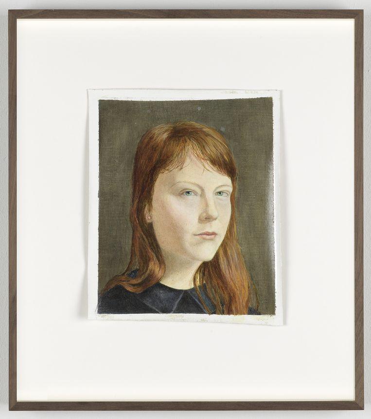 Porter, 2014, olieverf op doek. Beeld Galerie Fons Welters