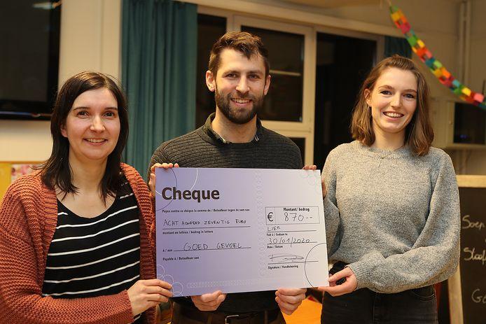 Sanne Van den Eynde van Goed Gevoel en Nathan Noëth en Anneleen Durnez van House Raccoon.