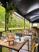 Le joli restaurant Dinner on the Lake.