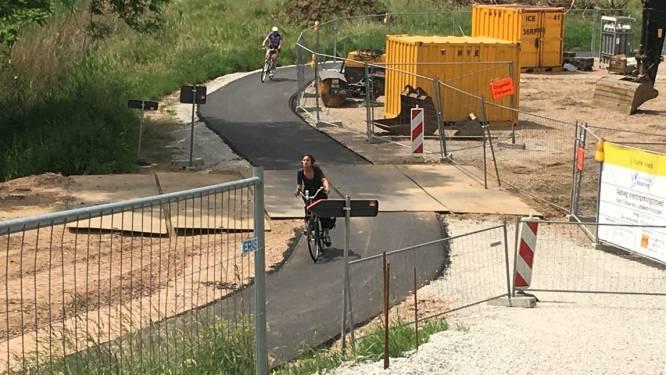 Populair fietspad aan overstromingsgebied Tien Vierendelen opnieuw berijdbaar