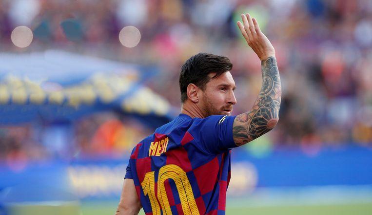 Lionel Messi Beeld Belgaimage