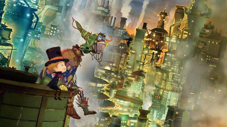 De vrolijke Japanse animatiefilm is de afsluiter van het IFFR. Beeld IFFR